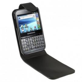 Etui Samsung Galaxy Y Pro B5510 simili cuir