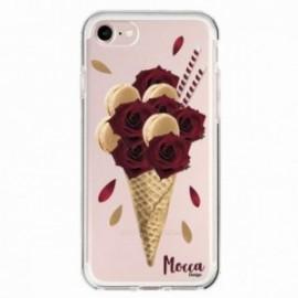 Coque Iphone 5/5S/SE Bump Glace Macaron