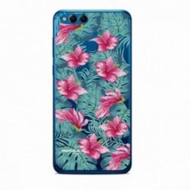 Coque Huawei Y7 2018 Bump Fleurs tropical