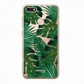 Coque Huawei Y7 2018 Bump Feuilles tropical