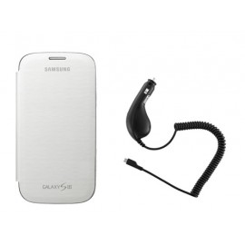 Pack Samsung Galaxy S3 I9300 EFC-1G6FW énergie et protection