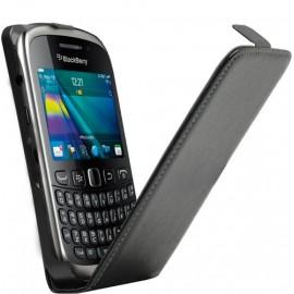 Housse Blackberry 9320 cuir noir