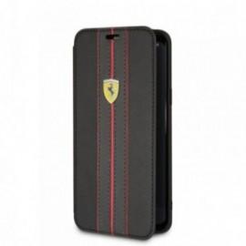 Etui Samsung S9 G960 Folio Ferrari Logo Or