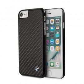 Coque iphone 6 / 6s BMW Signature carbone noir