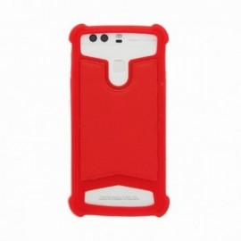 Coque Alcatel Idol 5 silicone universelle rouge