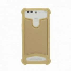 Coque Echo Flow silicone universelle or