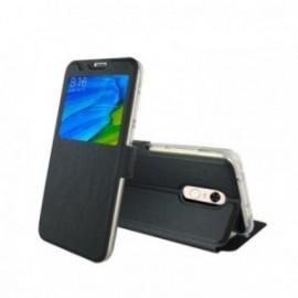 Etui Xiaomi Redmi 5 Plus folio stand vision noir