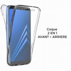 COQUE Samsung J6 2018 intégrale avant & arrière transparente