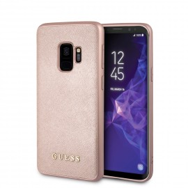 Coque Samsung Galaxy S9 G960 Guess Iridescent rose