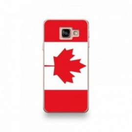 Coque Wiko Tommy 3 motif Drapeau Canada