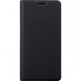 Etui folio noir pour Xiaomi Redmi 6