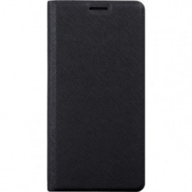 Etui folio noir pour Xiaomi Redmi 5