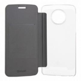 Etui Motorola G6 Plus folio case noir