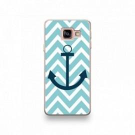Coque Echo Surf motif Bleu Marine Sur Fond Bleu Ciel