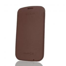 Etui pouch Samsung i9300 Galaxy S3 marron