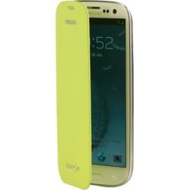 Etui Galaxy S3 I9300 Samsung EFC-1G6FM vert pomme