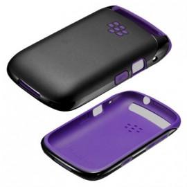 Coque Blackberry 9320 origine noire violette