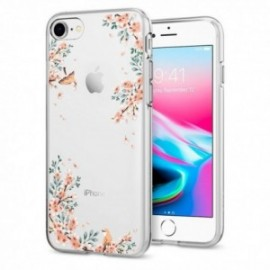 Coque iPhone 7/8 Spigen Liquid Crystal Blosson sable