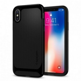 Coque iPhone X Spigen Neo Hybrid noir