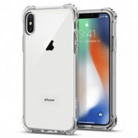 Coque iPhone X Spigen Rugged Crystal transparent