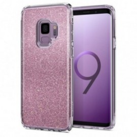 Coque Galaxy S9 Spigen Slim Armor Glitter rose
