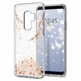 Coque Galaxy S9 Plus Spigen Liquid Crystal Blossom transparent