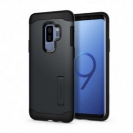 Coque Galaxy S9 Plus Spigen Slim Armor gris