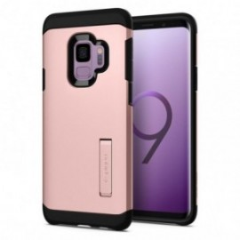 Coque Galaxy S9 Spigen Tough Armor rose