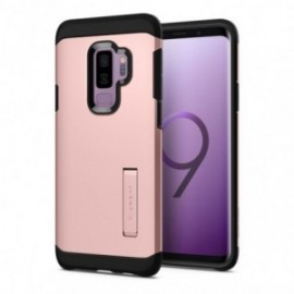 Coque Galaxy S9 Plus Spigen Tough Armor rose