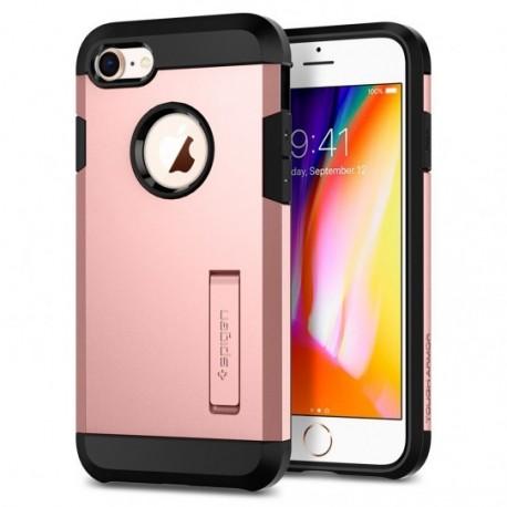 Coque iPhone 7 / 8 Spigen Tough Armor 2 rose or