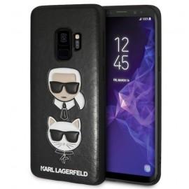 Coque Samsung Galaxy S9 plus Karl Lagerfeld noire