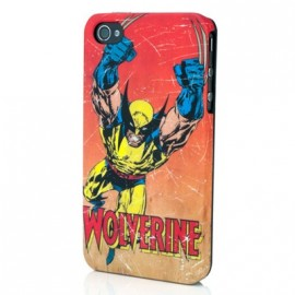 Coque iphone 4 / 4S Wolverine Red Rage