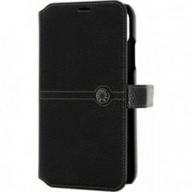 Etui iPhone XS Max folio Façonnable noir