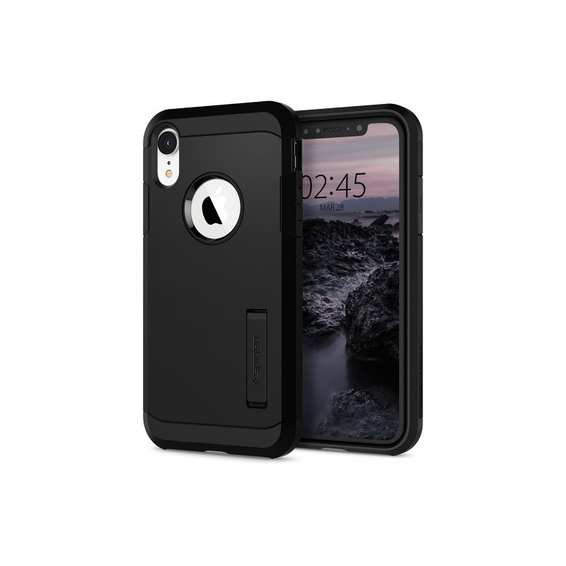 coque spigen iphone xr noir