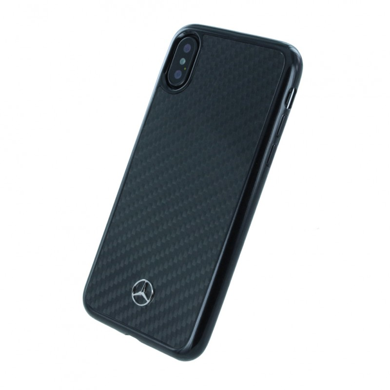 coque iphone x carbone