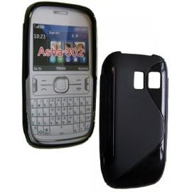 Coque Nokia asha 302 sline noire