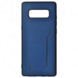 Coque Trendy Bleu pour Samsung Note 9