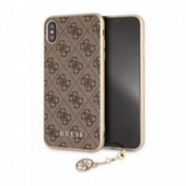 Coque Iphone XS MAX Guess 4g gris