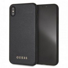 Coque Iphone XS MAX Guess iridescent noire