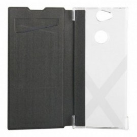 Etui Sony Xperia XA2 Plus folio case noir