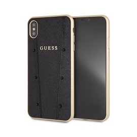 Coque iPhone XS Max 6,5 Guess Kaia noire