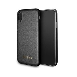 Coque iPhone XR 6,1 Guess Iridescent noire