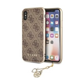 Coque Iphone X/XS Guess 4G Marron