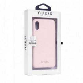 Coque Iphone X/XS Guess rose pâle