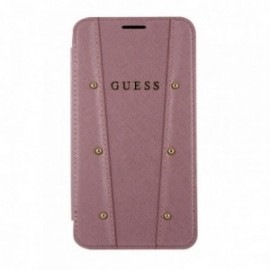 Etui Iphone XR 6,1'' Folio Guess Kaia rose