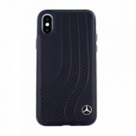 Coque Iphone X/XS Mercedes Bow I noir