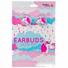 Kit mains libres Earbuds intra-oriculaire Unicorn