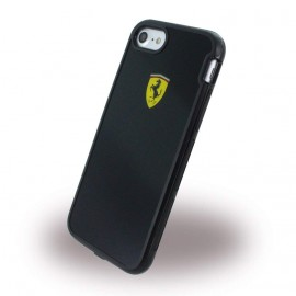 Coque iphone 7 Ferrari Shockproof noir