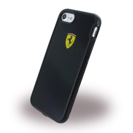 Coque iphone 7 Ferrari Shockproof noir