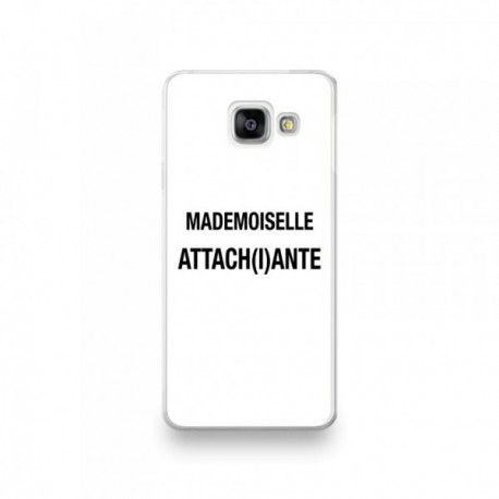 Coque Huawei Mate 20 Pro motif Mademoiselle Attachiante